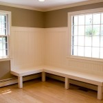 Bench seating for a kitchen table in Glastonbury, CT