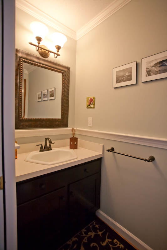 Bathroom Remodel With Crown Molding