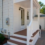 Completed porch renovation