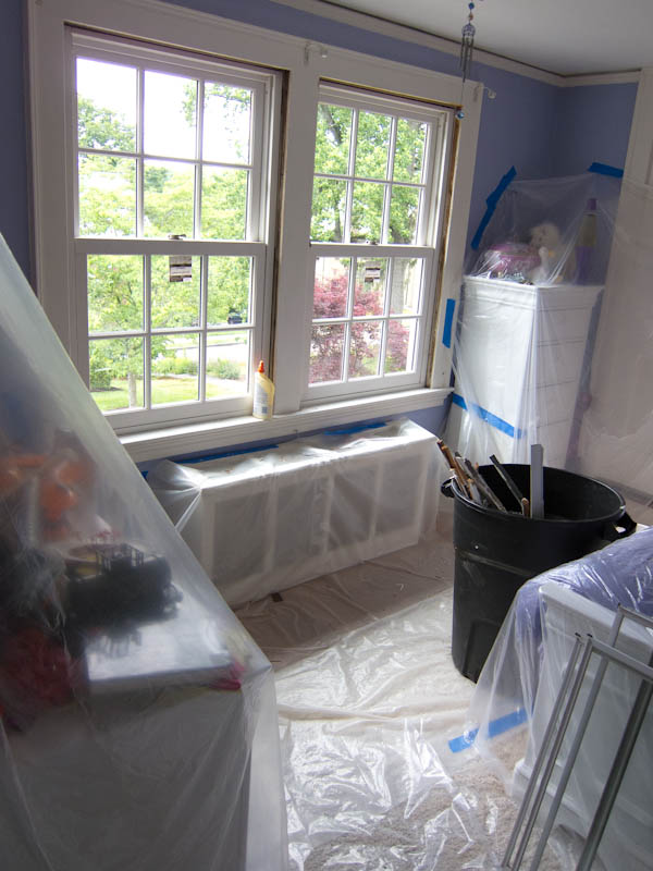 Installing Marvin Ultimate Double Hung replacement windows in West Hartford, CT