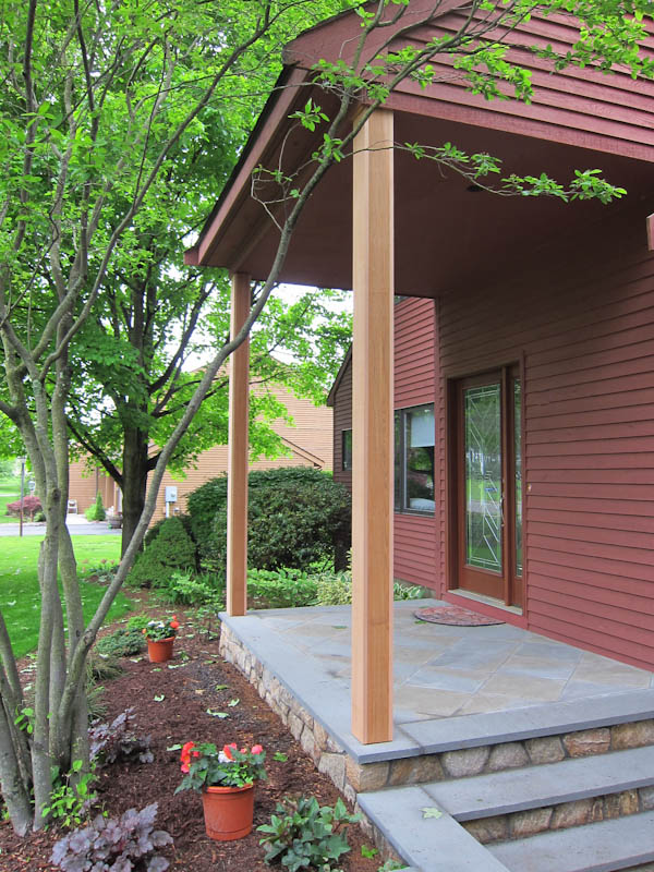 Porch Post Repair In Rocky Hill Ct Central Ct Porch And