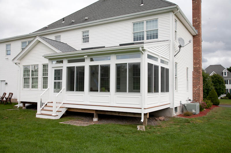 Image of an enclosed porch in Ellington, CT