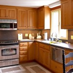 Kitchen remodeling job with custom built cherry cabinets in Glastonbury, CT
