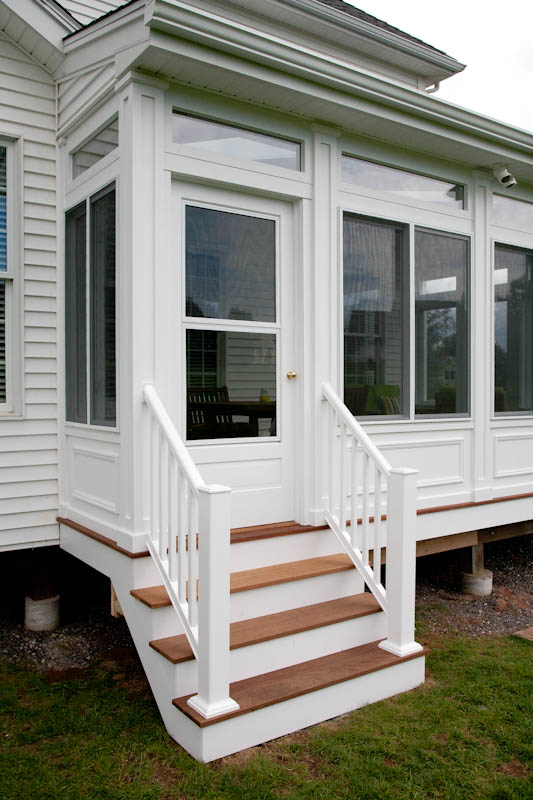 Composite Porch Stairs And Railing Ellington Ct